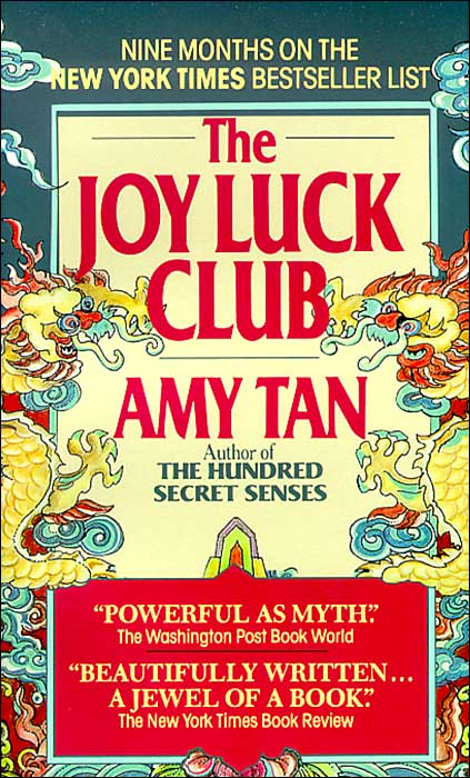 literary analysis of joy luck club Literature analysis: amy tan's the joy luck club the novel begins after the death of the founding member of the joy luck club literary elements 1.