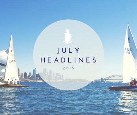 July 2015 Headlines