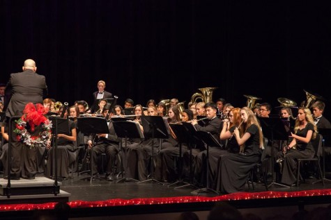 Dublin High School's Instrumental Music Department Performs at the 8th Annual Winter Concert