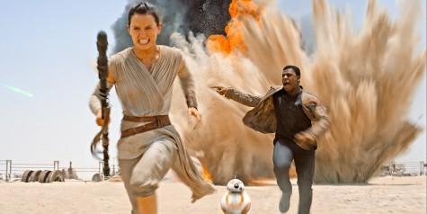 Rey, BB-8, and Finn (Photo Credit: Screen Rant)