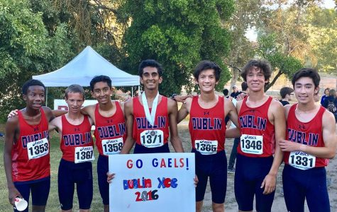 Cross Country Team Sets NCS Record at Clovis Invitational