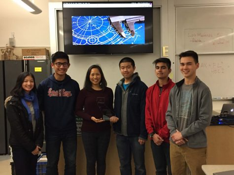 Ms. Eugene Chou Recognized as PLTW State Teacher of the Year