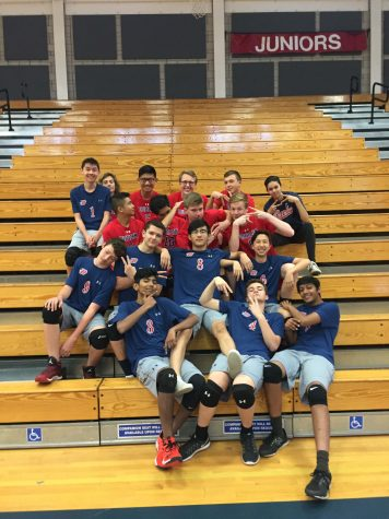 Volleyball Debuts Men's Program at DHS