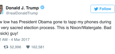 Keeping Up with the Trump Administration: Another Week, Yet Another Tweet! This Time it's Wiretapping!