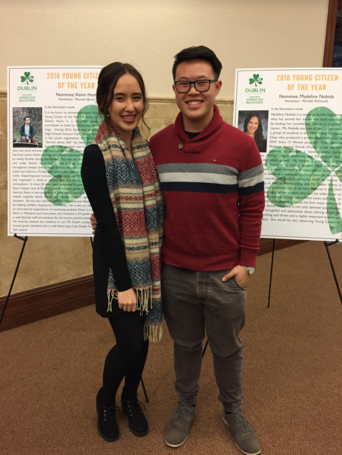 Student Spotlight: Kevin Hom and Maddi Nobida