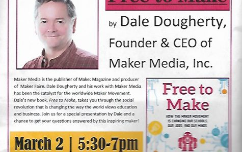 Maker Faire Founder Dale Dougherty Speaks at DHS