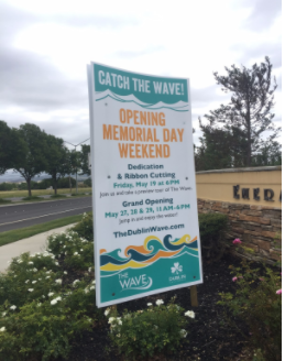 "Dublin's Much Anticipated Aquatic Park the ""Wave"" to Open Soon"