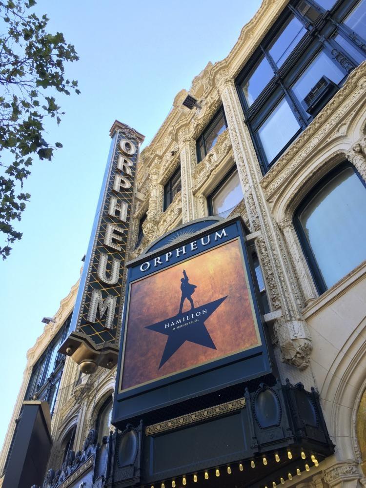 Hamilton Comes to San Francisco