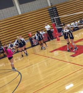Girls Varsity Volleyball: NCS Awaits