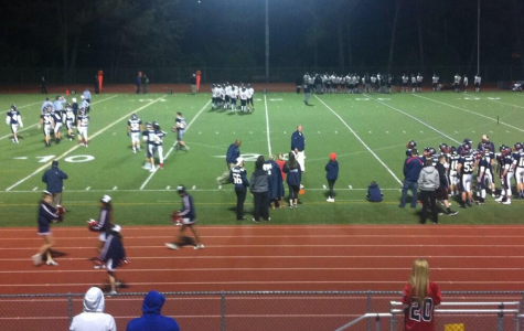 The Dublin Gaels regrouping after a play