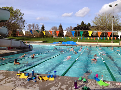 Swimmers Begin Their New Swim Season