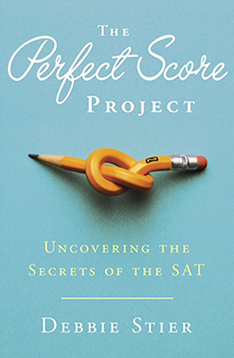 ABOVE: The Perfect Score Project book cover.
