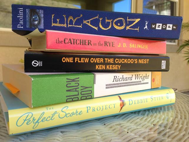 Examples of books some students may read concurrently with novels assigned by their English classes.
