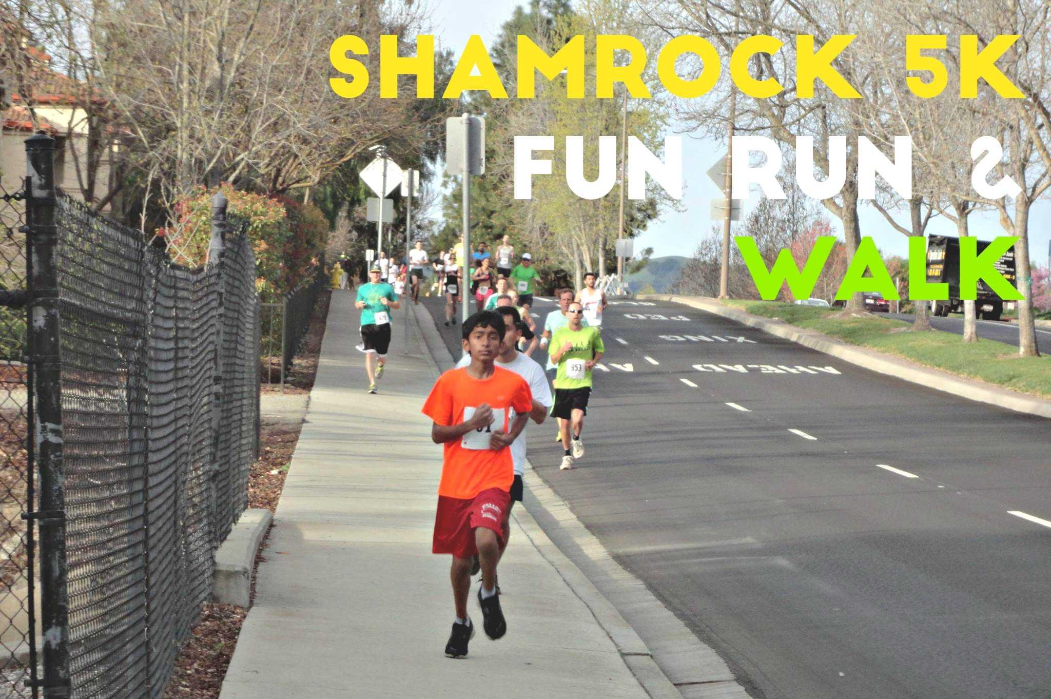 Shamrock 5K Fun Run and Walk