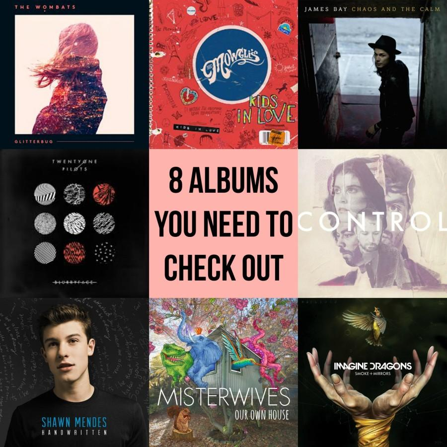 8 Albums You Need to Check Out