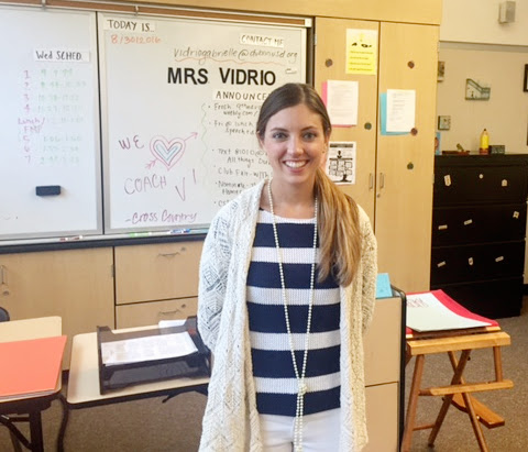 Meet Mrs. Gabrielle Vidrio, 9th and 10th Grade English Teacher and Assistant Cross Country Coach
