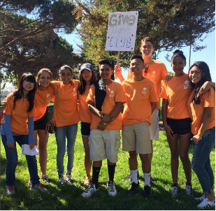 Some of the Splatter volunteers were DHS students, part of community service clubs like GiveLight.