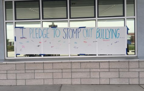 On Monday, October 3, DHS Students signed a petition to end bullying.