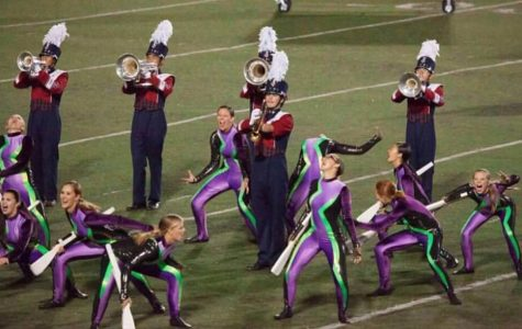 Dublin High School's Marching Band and Color Guard Earn Second Place at Foothill