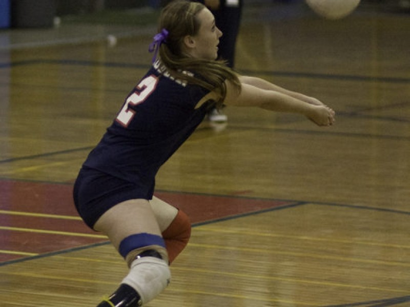 Before becoming a Paralympic athlete for team USA, Bethany Zummo played standing Hockey for the DHS Lady Gaels Volleyball team. The picture above shows Zummo during a high school game, wearing her DHS jersey and prosthetic.