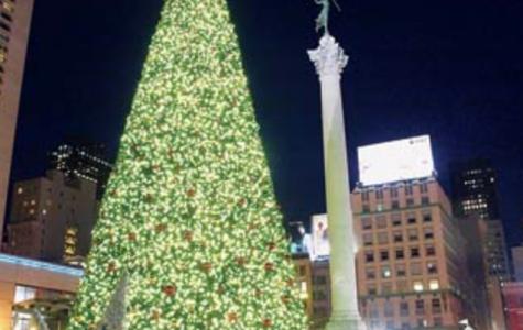 Union Square on Christmas!