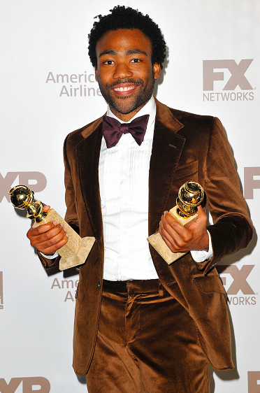 Donald Glover at the 2017 Golden Globes.