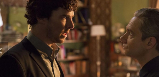 Sherlock and John in