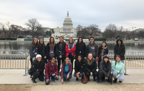 DHS Students See 2017 Inauguration Close Up