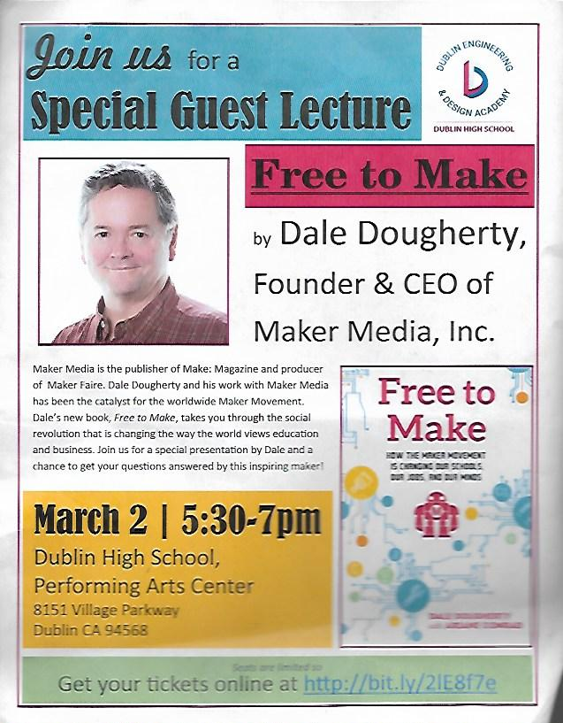 Maker+Faire+Founder+Dale+Dougherty+Speaks+at+DHS