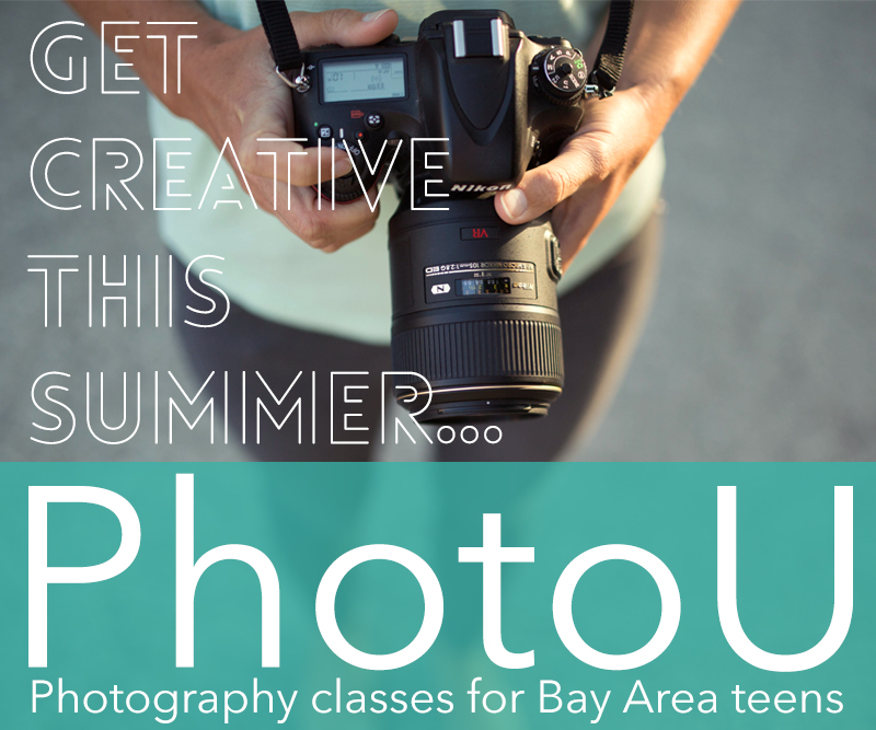 PhotoU offers online photography classes for high school students.