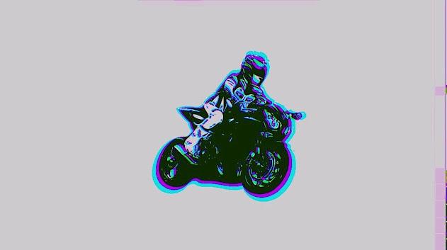 3D Motorcycle Boy