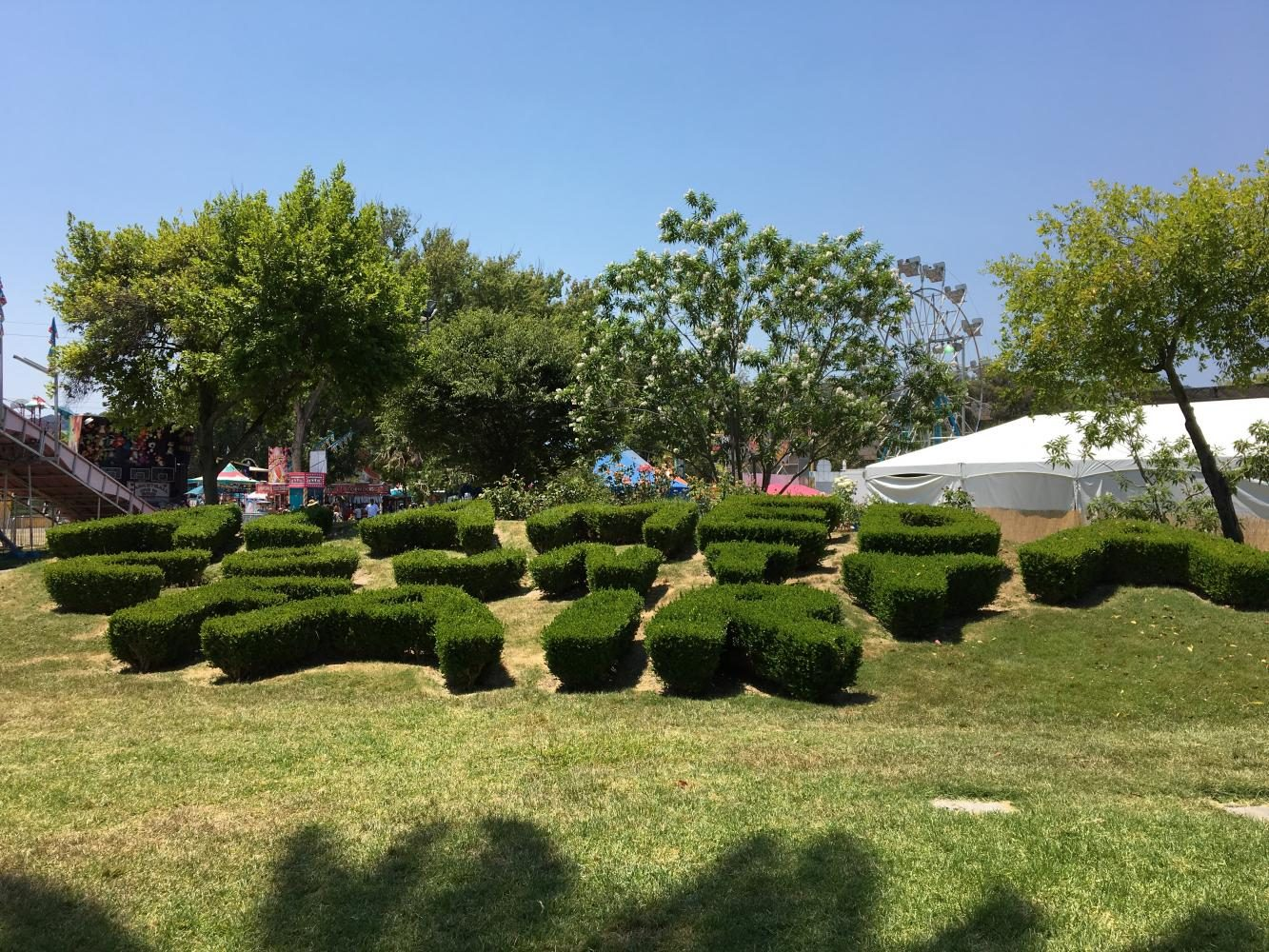 Hedge+cutouts+at+the+family-friendly%2C+fun+event+read+%22Alameda+County+Fair%22.+