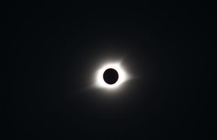 Dublin High Views the Great American Eclipse