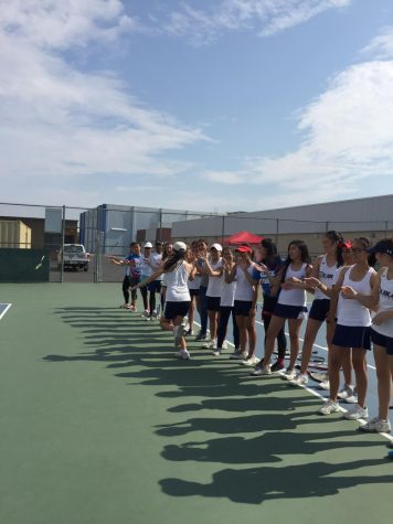 Ooh, Ahh, You Wish You Were a Lady Gael: Dublin High Girls' Tennis Takes the Courts