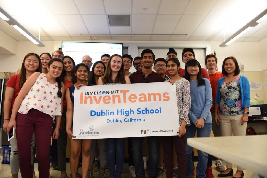 Dublin High InvenTeam Wins Lemelson-MIT Grant and Is On the Road to Cambridge