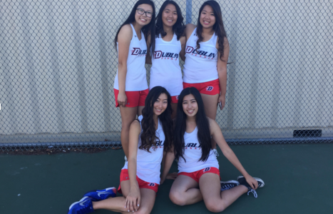 Girls' Tennis Senior Night: Lady Gaels Take It to the Court One More Time
