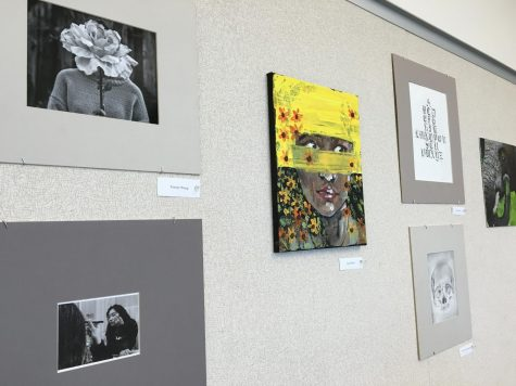 Dublin High Student Art Work & Art Show Review