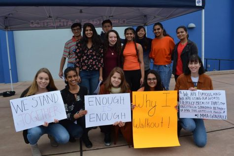 Students Unite in a Peaceful Walkout to Advocate for Legislative Reform to End Gun Violence