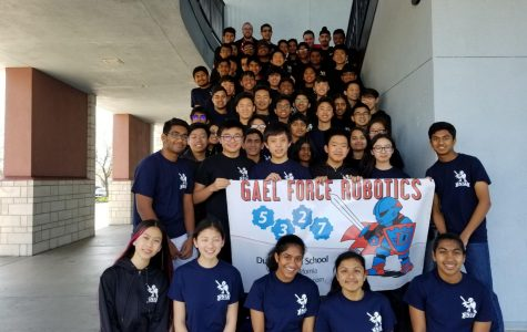 Gael Force Robotics Club To Compete at VEX World Championships