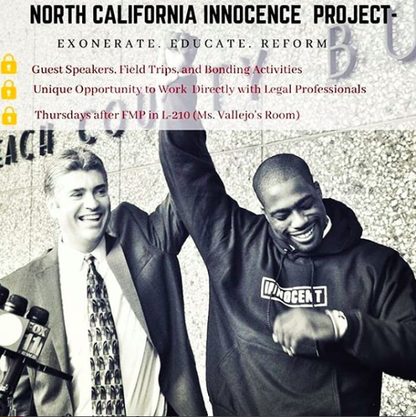 Club Spotlight: Northern California Innocence Project