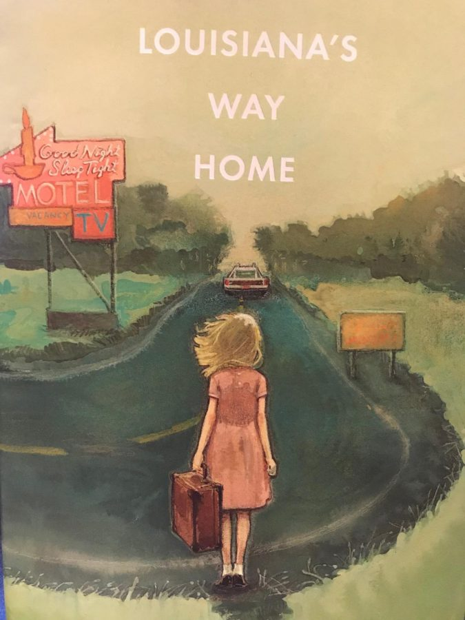 The+cover+of+Kate+DiCamillo%27s+newest%2C+highly-anticipated+novel%2C+Louisiana%27s+Way+Home.+