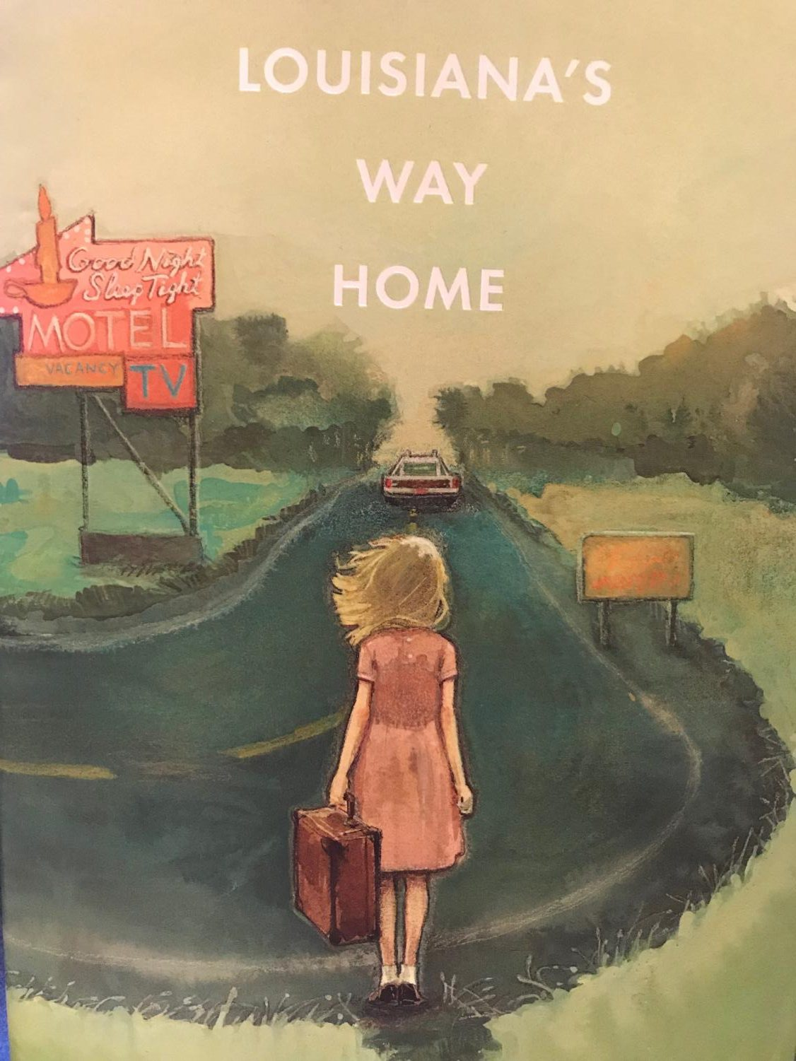 The cover of Kate DiCamillo's newest, highly-anticipated novel, Louisiana's Way Home.