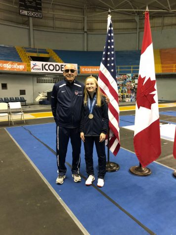 Student Spotlight: Sonia Bulavko, Internationally Ranked Fencer