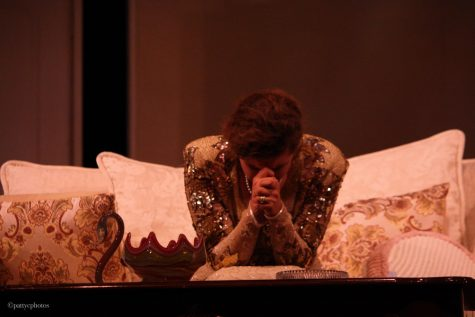 Kaitlyn Hamann expresses frustration in her role as Chris. Credit: Patty Cruz