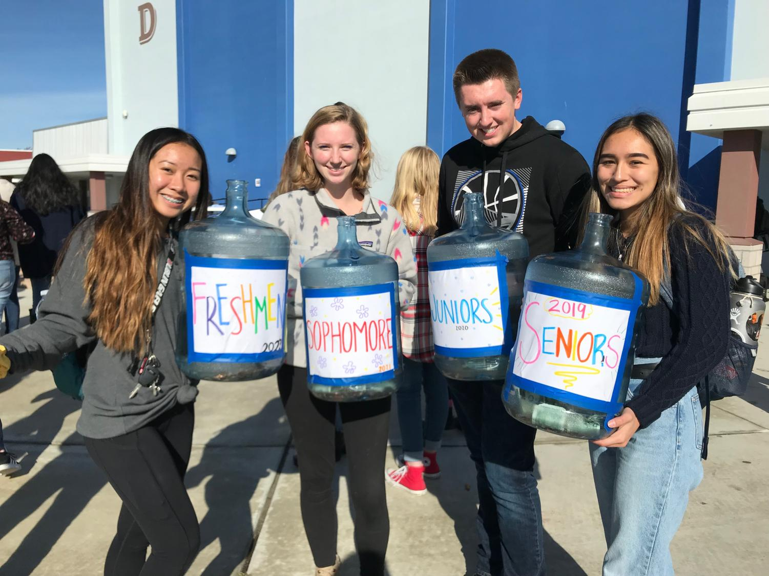 Leadership students collected donations from students based on their grades. While most students wanted to donate and support those impacted by the fires regardless, the class competition provided an increased motivation.