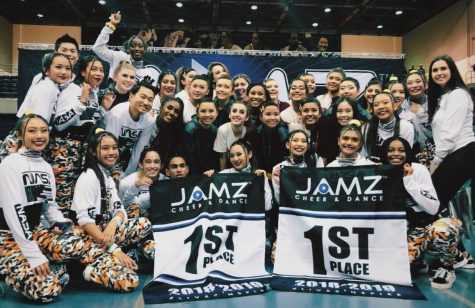 The Dublin High School Junior Varsity and Varsity Hip Hop Teams
