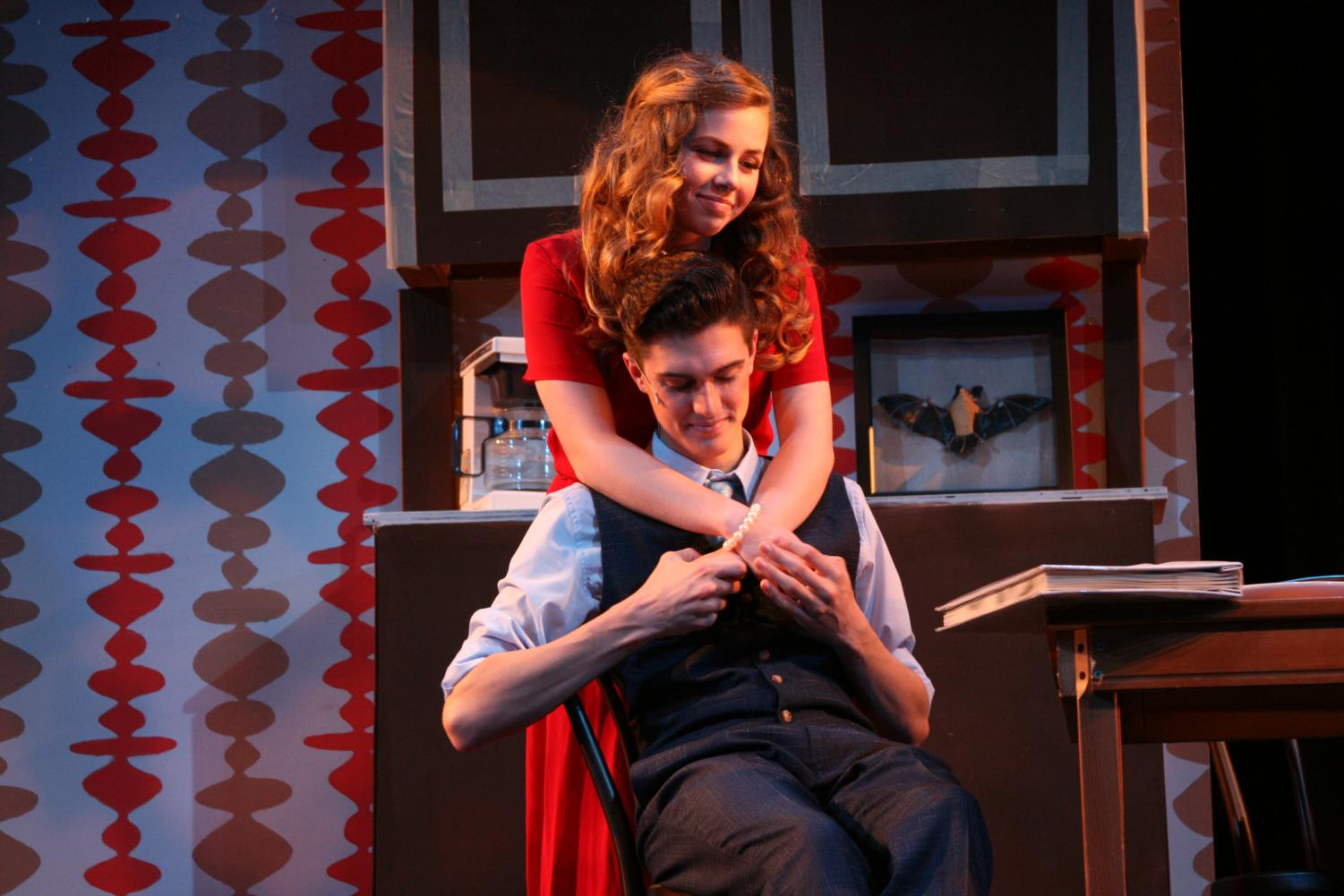 Madison Charles and Trevor Lind starred opposite each other in the musical.