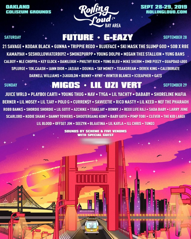 The Rolling Loud Music Festival, taking place this weekend, will be covered by two DHS students. The lineup for the festival includes G-Eazy, Future, Migos, and Lil Uzi Vert.