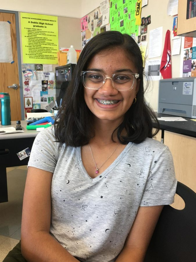 Parnika Karthik, a freshman in the Biomedical Academy, already appreciates everything she's been able to learn the past several months. Parnika also offered advice to students considering applying, stressing the importance of expressing a love for the sciences.