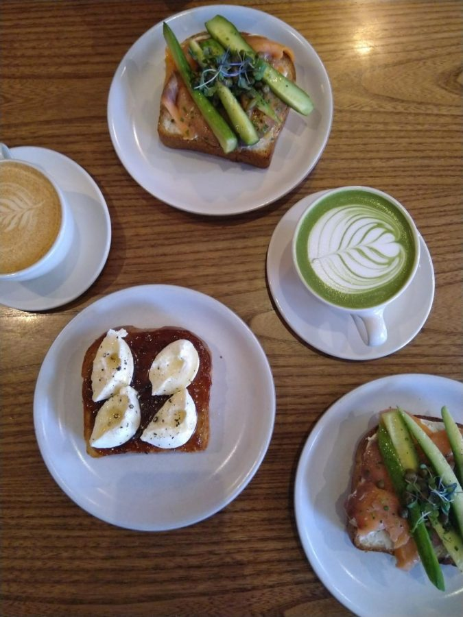 Mazarine Cafe's excellent lattes and food choice make it an essential part of a trip to San Francisco for me.
